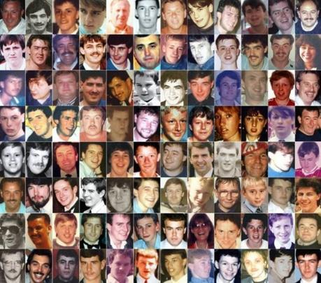 Los 96 muertos en la tragedia de Hillsborough