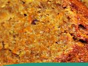Bizcocho húmedo especiado calabaza, dátiles pistachos mantequilla aceite