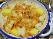 Bacalao patatas coliflor