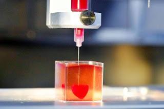 Impresión de corazón a través de la tecnología 3D-TuParadaDigital