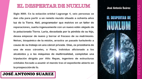 El despertar de Nuxlum - José Antonio Suárez