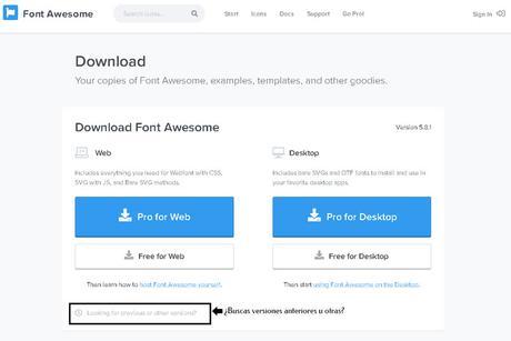 Descarga Las Diferentes Versiones De Iconos Font Awesome En Formato Svg + Extra