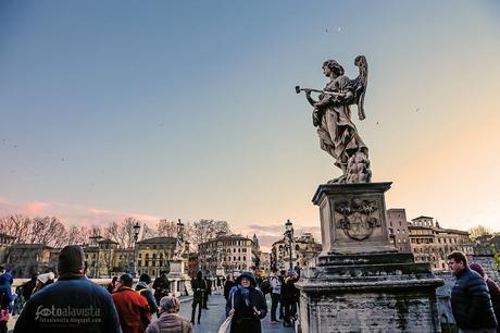 Atardecer celestial en Roma - Fotografía