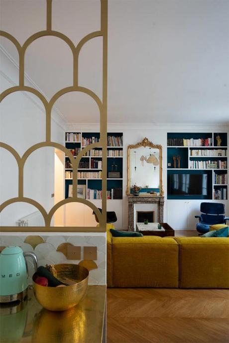 Creando conexiones. 100 m2 parisinos
