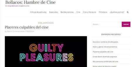 La Taverna del Mastí colabora en el 8º Aniversario de Bollacos: Hambre de Cine.