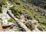 Senderismo Monte isla Naxos