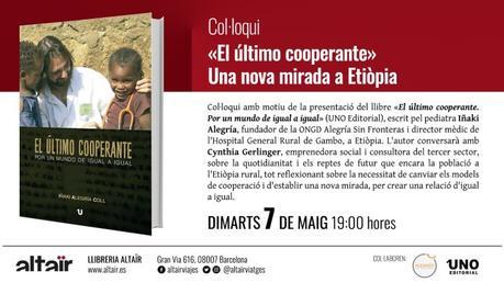 Coloquio presentación en librería Altaïr Martes 7 de Mayo a las 19h