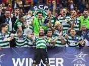 Sporting Portugal vence primera Champions League Fútbol Sala