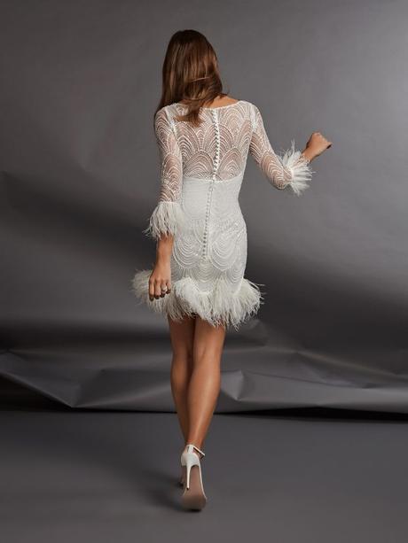 Anímate a ir de corto. Vestidos de novia para esta temporada