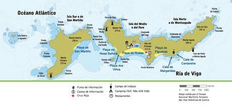 El paraíso: Islas Cíes y Hoteles con Encanto
