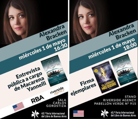 3 autoras internacionales, 3 libros