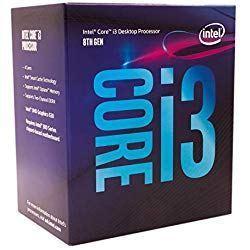Intel Core i3-8100 3.6GHz 6MB Smart Cache Caja - Procesador (3,6 GHz, PC, 14 NM, i3-8100, 8 GT/s, 64 bits)