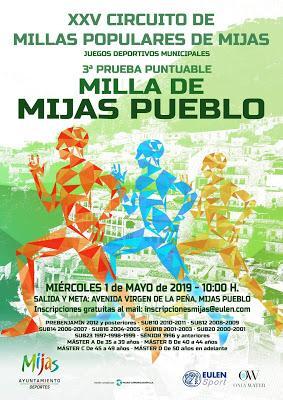 XXV Circuito de Millas Populares de Mijas (Mijas Pueblo)