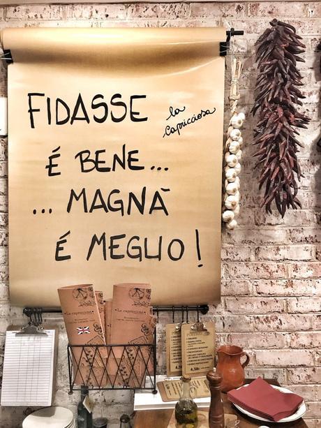 Para amigos, novi@s, familias y mascotas: La Capricciosa Italiana