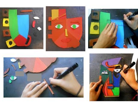 Máscaras coloridas