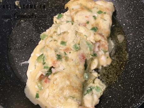 Tortilla de masala