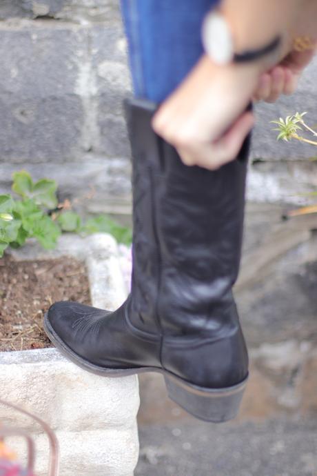 Still in boots