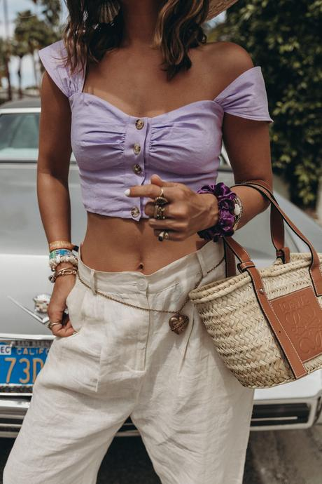 How to wear Lilac