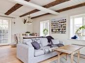 Decoración blanco madera natural