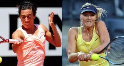 WTA de Roma: Schiavone y Sharapova debutaron con victorias
