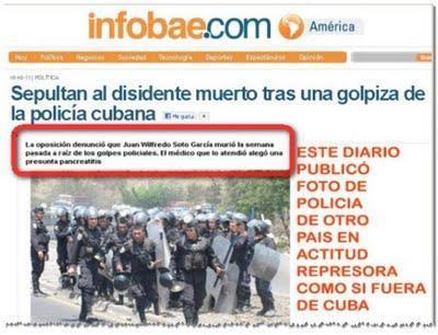 Los medios lincharían a Cuba por los dichos de mercenarios  (+ video)