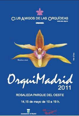 ExpOrquídea 2011 en Madrid