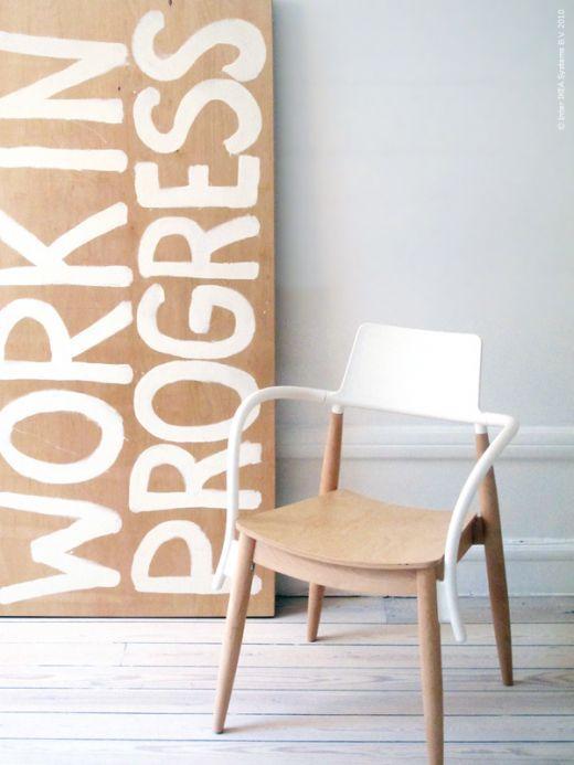 Ikea hack mesa plegable como mesa de trabajo paperblog - Ikea mesas trabajo ...