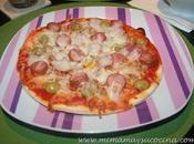 Recetas Pizza mamá cocina