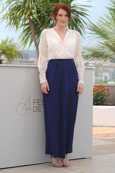 Bryce Dallas Howard Producer Bryce Dallas Howard attends the 'Restless' photocall during the 64th Annual Cannes Film Festival in France.