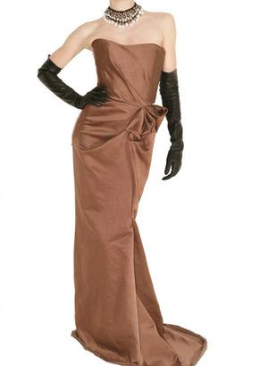 Lanvin Pre-Fall 2010 Strapless Washed Satin Gown Profile Photo