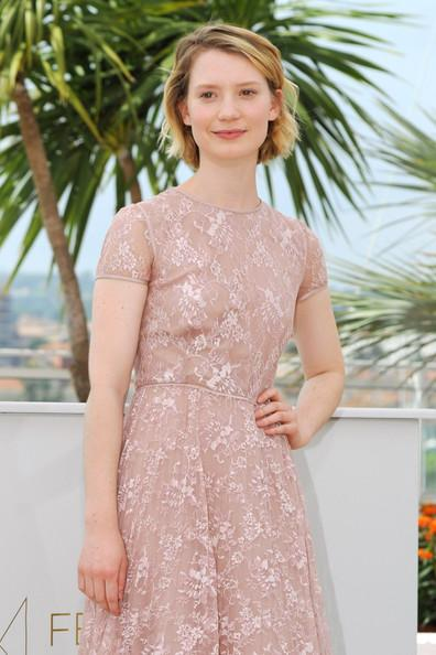 Mia Wasikowska Mia Wasikowska attends the 'Restless' photocall during the 64th Annual Cannes Film Festival in France.