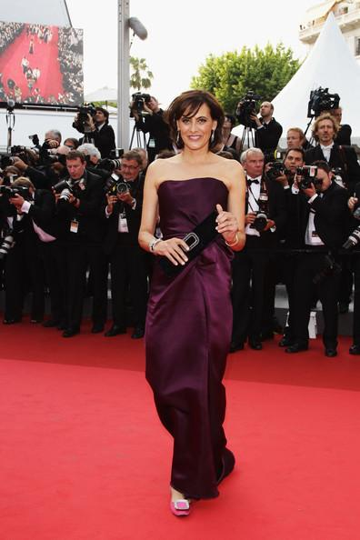 Ines de La Fressange arrives at the 'Sleeping Beauty' premiere during the 64th Annual Cannes Film Festival at the Palais des Festivals on May 12, 2011 in Cannes, France.