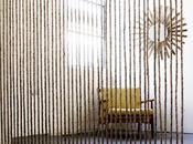 Separar ambientes muro cuerdas