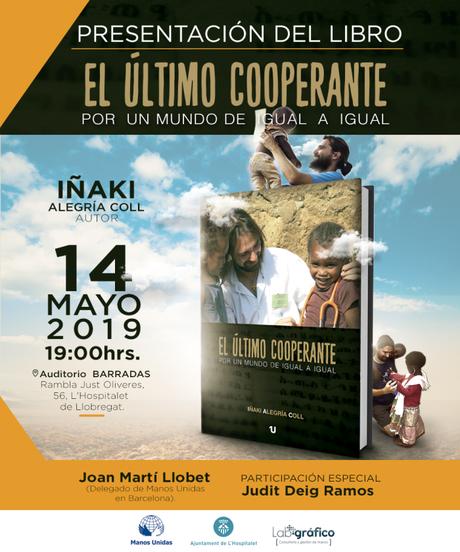 Presentación del nuevo libro en Hospitalet de Llobregat: día 14 de Mayo