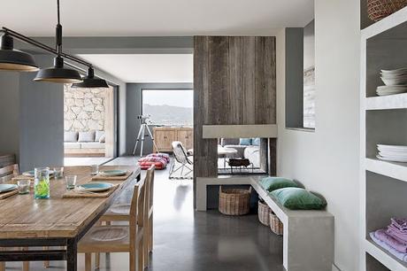 Casa Simple y Minimalista en Corcega