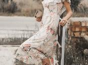 Looks para eventos: cómo vestir bodas, bautizos comuniones: vestido floral