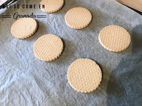 Merengues con galleta sin gluten