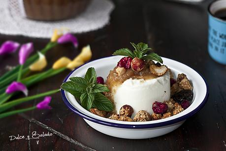 Granola Casera con Pasta de Dátiles