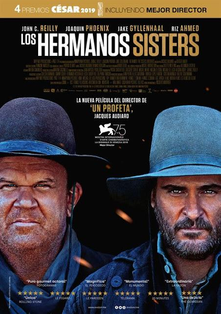 Los Hermanos Sisters (The Sisters Brothers, 2018)