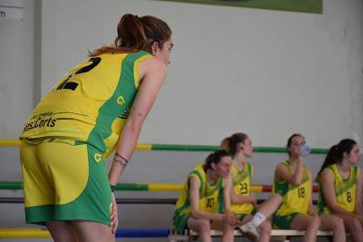 Galería de escenas del Bàsquet Femení Sant Adrià-Joventut Les Corts (Copa Catalunya)