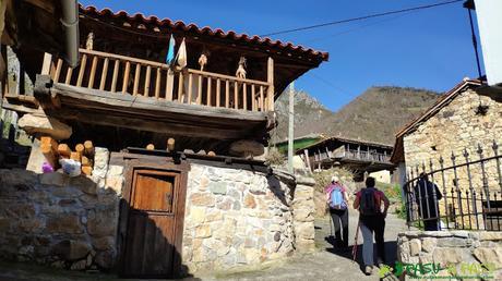 Calles y casas de Robledo, Somiedo