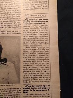 Pasando Revista:  BILL WYMAN y el final de los ROLLING STONES