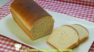 Receta fácil de pan de molde muy tierno con miel y yogurt