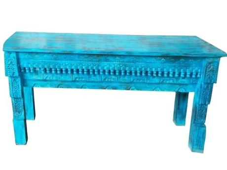 teal blue antique console table beautiful hand carved sofa etsy antique console tables antique radio console furniture