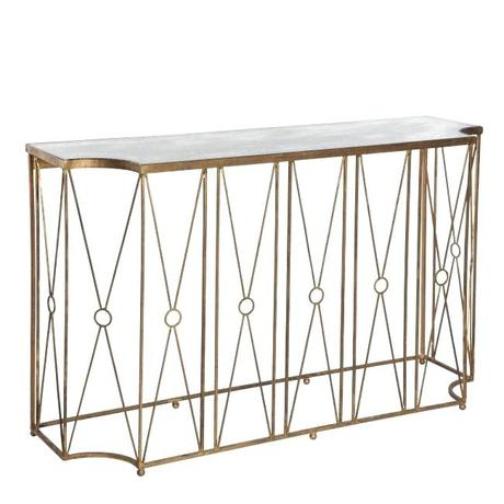 aidan gray marlene console table with antique mirror free shipping antique console tables vintage brass console table