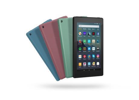 Amazon presenta su nueva tableta Fire 7