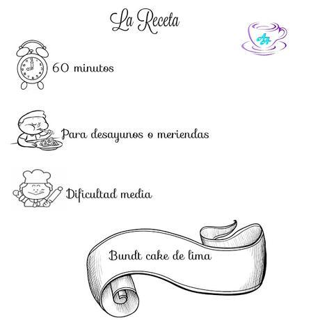 BUNDT CAKE DE LIMA