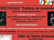 Teatro inclusivo FESTEAMUS, Cuellar, Manu Medina.