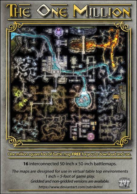 The One Million dungeon de Zatnikotel