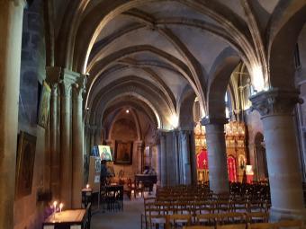 La iglesia más vieja de París: Saint Julien le Pauvre